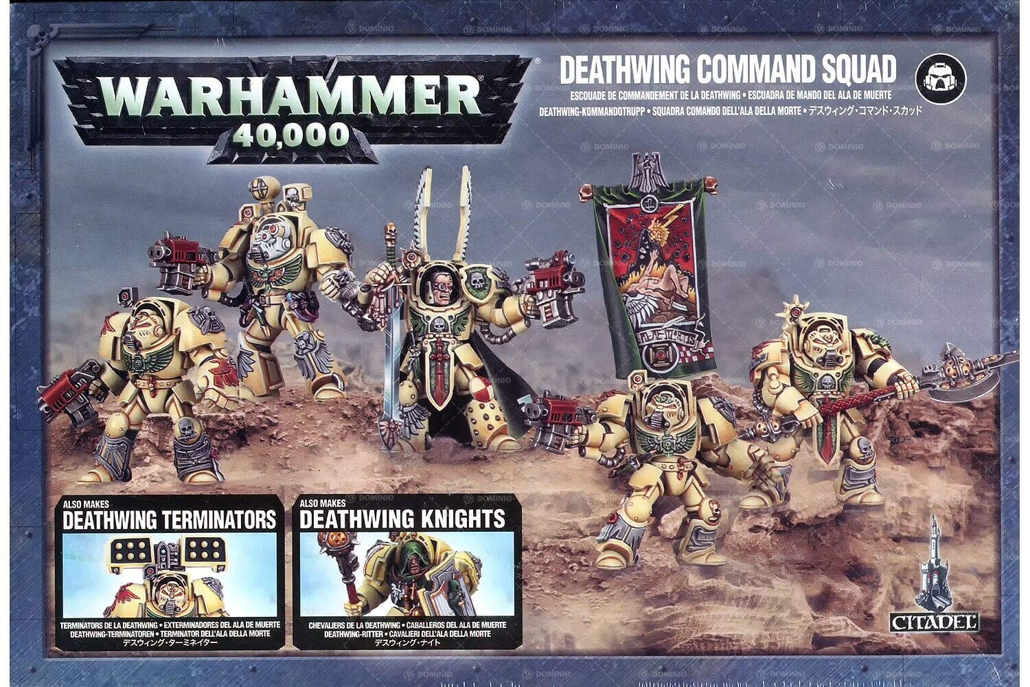 Games Workshop 99120101096'' Deathwing Command Squad Tabletop and Miniature