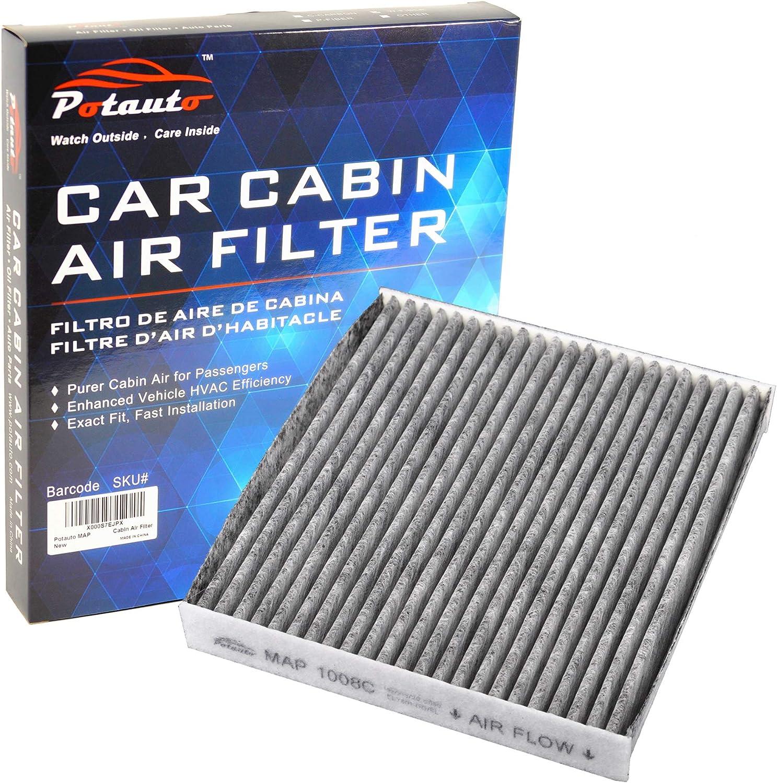 PONTIAC LEXUS High Performance Car Cabin Air Filter Replacement for TOYOTA POTAUTO MAP 1008W SUBARU CF10285 SCION