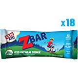 Clif Kid ZBAR - Organic Energy Bar - Iced Oatmeal Cookie - (1.27 Ounce Snack Bar, 18 Count) (Packaging May Vary)