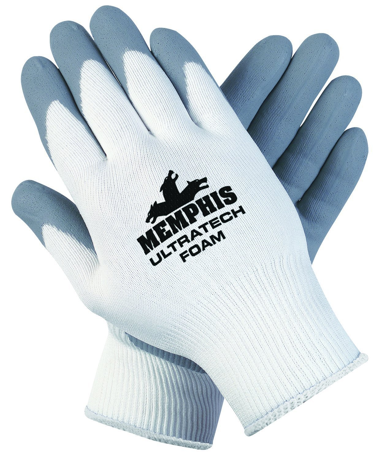 79a535036f Memphis Glove 9674L Ultratech Foam Seamless 15 Gauge Nylon Knit ...