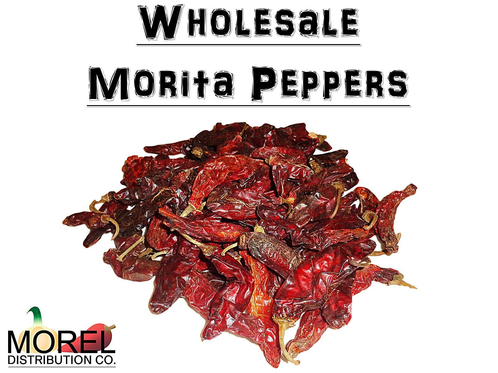 Dried Chile Morita Peppers //Chipotle// Bulk Weights: 2 Lbs, 5 Lbs, and 10 Lbs!! (2 LBS)