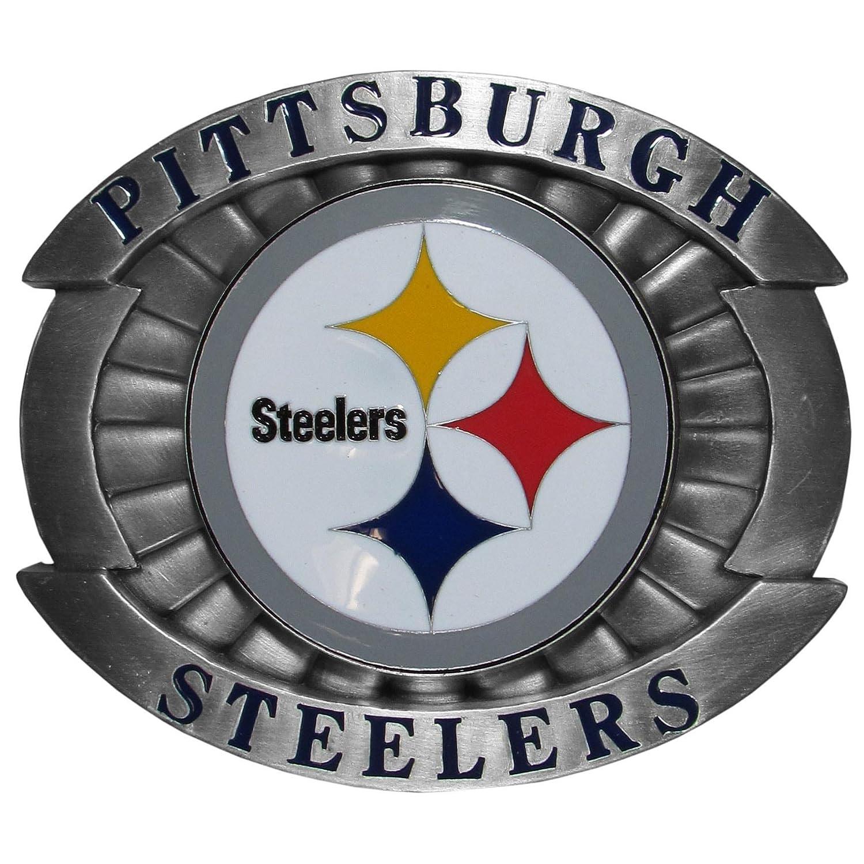 Amazon Nfl Pittsburgh Steelers Oversized Buckle Belt Buckles