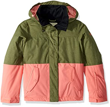 b3c4fde62d23 Roxy Jetty Block Girl Snow Jacket Insulated  Amazon.co.uk  Clothing