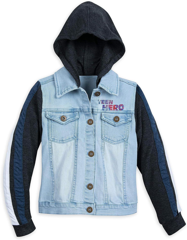 Boys or Girls Size 56 Marvel Comics Jean Jacket-Embellished Denim Jacket-Unisex Upcycled Jean Jacket-Birthday Gift-One of a Kind Jean Coat