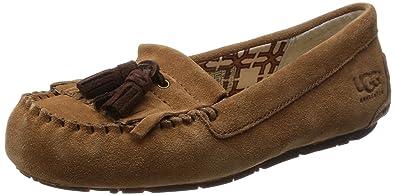 b73be321613 Amazon.com | UGG Australia Womens Lizzy Moccasin Chestnut Size 8 | Shoes