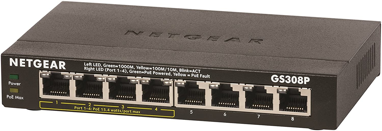 Essentials Edition GS305 NETGEAR 5-port Gigabit Desktop Switch in Metal Case