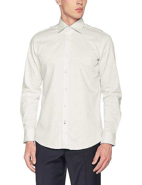 CG SV-Hai, Camisa de Oficina para Hombre, Blanco (Weiß 10), 46 Carl Gross