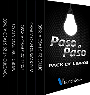 Pack de eBooks Paso a Paso (para descarga): Office 2016 Paso a Paso