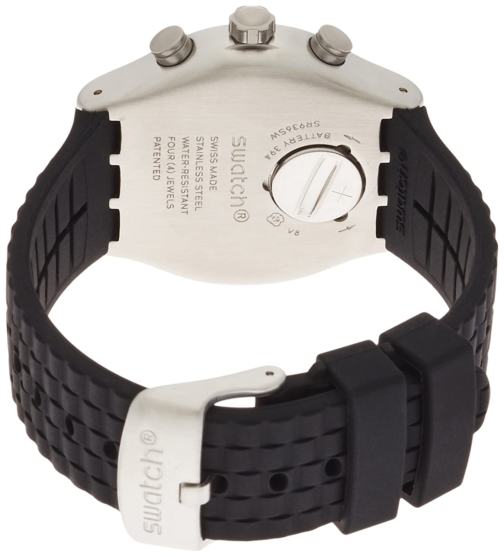 13939c45cc1e Swatch Reloj Cronógrafo para Unisex de Cuarzo con Correa en Silicona  YVS420  Amazon.es  Relojes