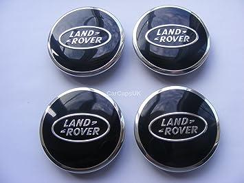 Set de 4 tapas de centro de ruedas de aleación para Landrover, 63 mm: Amazon.es: Coche y moto