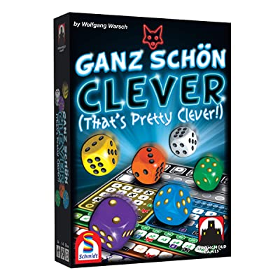 Stronghold Games 6025SG Ganz Shon Clever (That's Pretty Clever): Toys & Games