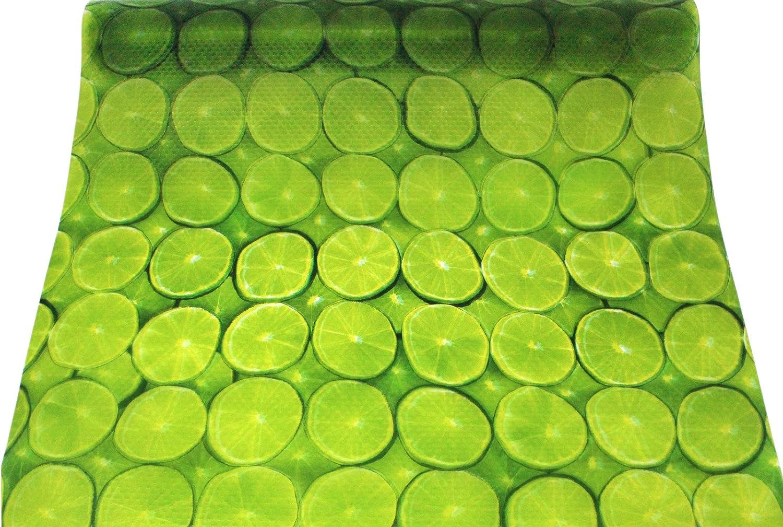 Friedola cool /& Fresh 50x150cm K/ühlschrankmatte Antirutsch Unterlegfolie Lemon gr/ün Schubladeneinlage