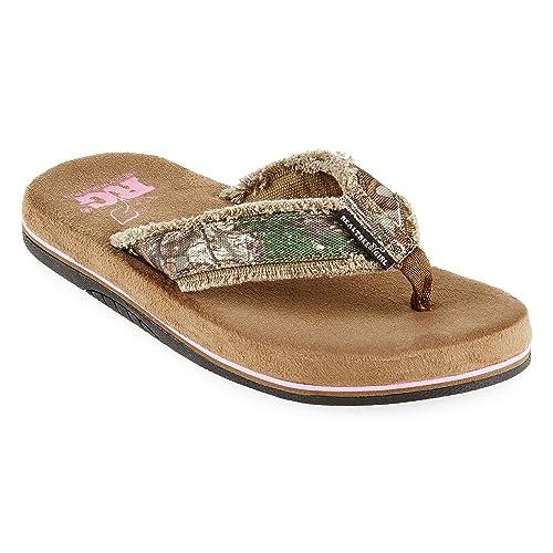8f8346da67ca0 Realtree Bliss Womens Flip Flops: Amazon.ca: Shoes & Handbags