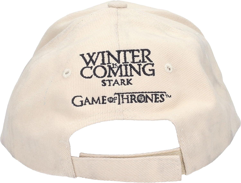 SD Toys Stark Game of Thrones Gorra de béisbol, Beige, U Unisex Adulto: Amazon.es: Ropa y accesorios