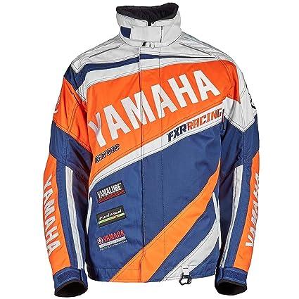 Yamaha carrera chaqueta FXR - naranja/blanco: Amazon.es ...