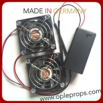 OPLE Props Ventilation System Ople Commander Twin Fan Helmets
