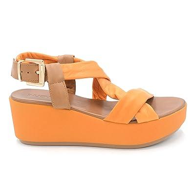 edaa60fcfeb1 Inuovo Women s Fashion Sandals orange orange 6 UK 7 UK orange Size  6.5
