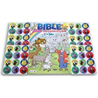 Noah's Ark, Jonah and the Whale Bible Coloring & Activity Book (Games, Puzzles, Scrambles, Coloring Sheets) with 48…