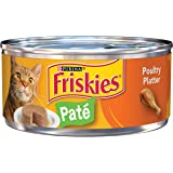 Purina Friskies Pate Liver & Chicken Dinner Cat Food (24) 5.5 oz. Pull-top Can