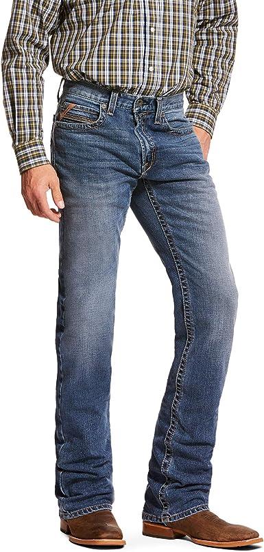 Ariat Men S M1 Vintage Stretch Horizon Stackable Straight Leg Jean At Amazon Men S Clothing Store