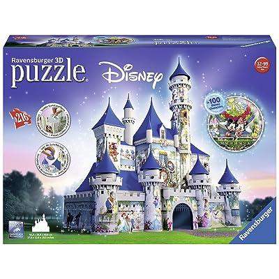 Ravensburger 12587 - Puzzle - 3D Château Disney - 216 Pièces