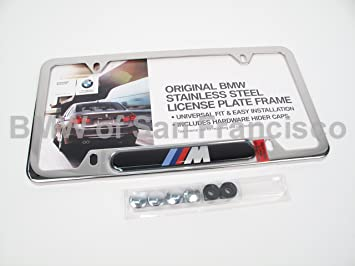bmw license plate frame m