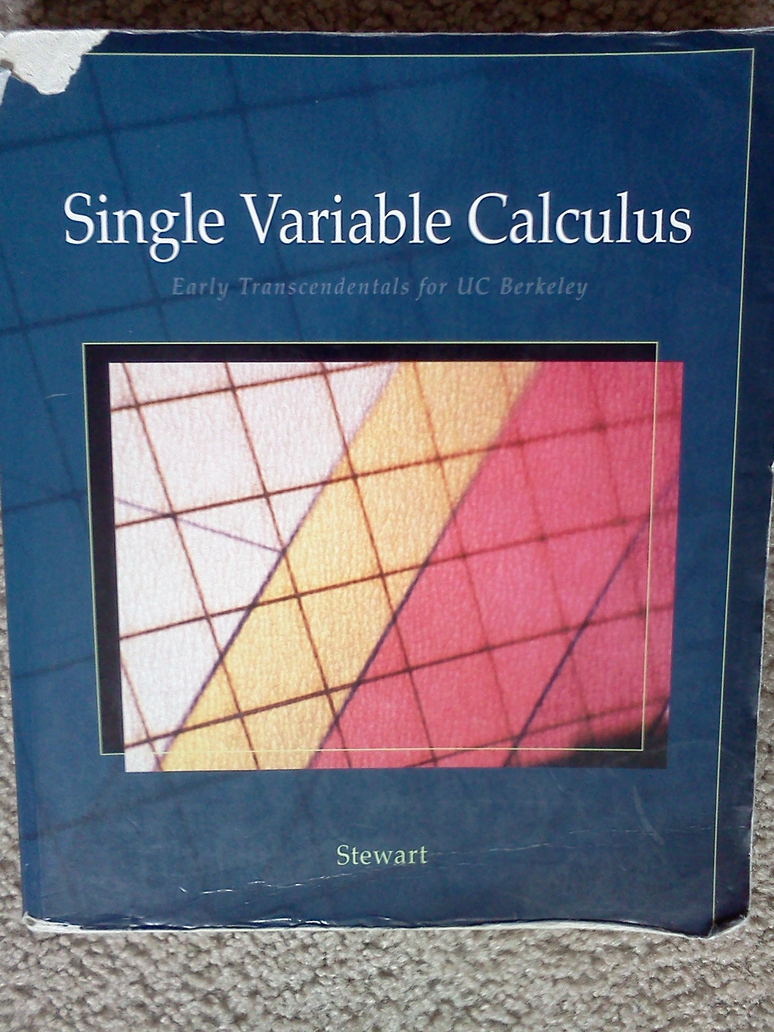 Single Variable Calculus: Early Transcendentals for UC Berkeley: James  Stewart: 9781424055005: Amazon.com: Books