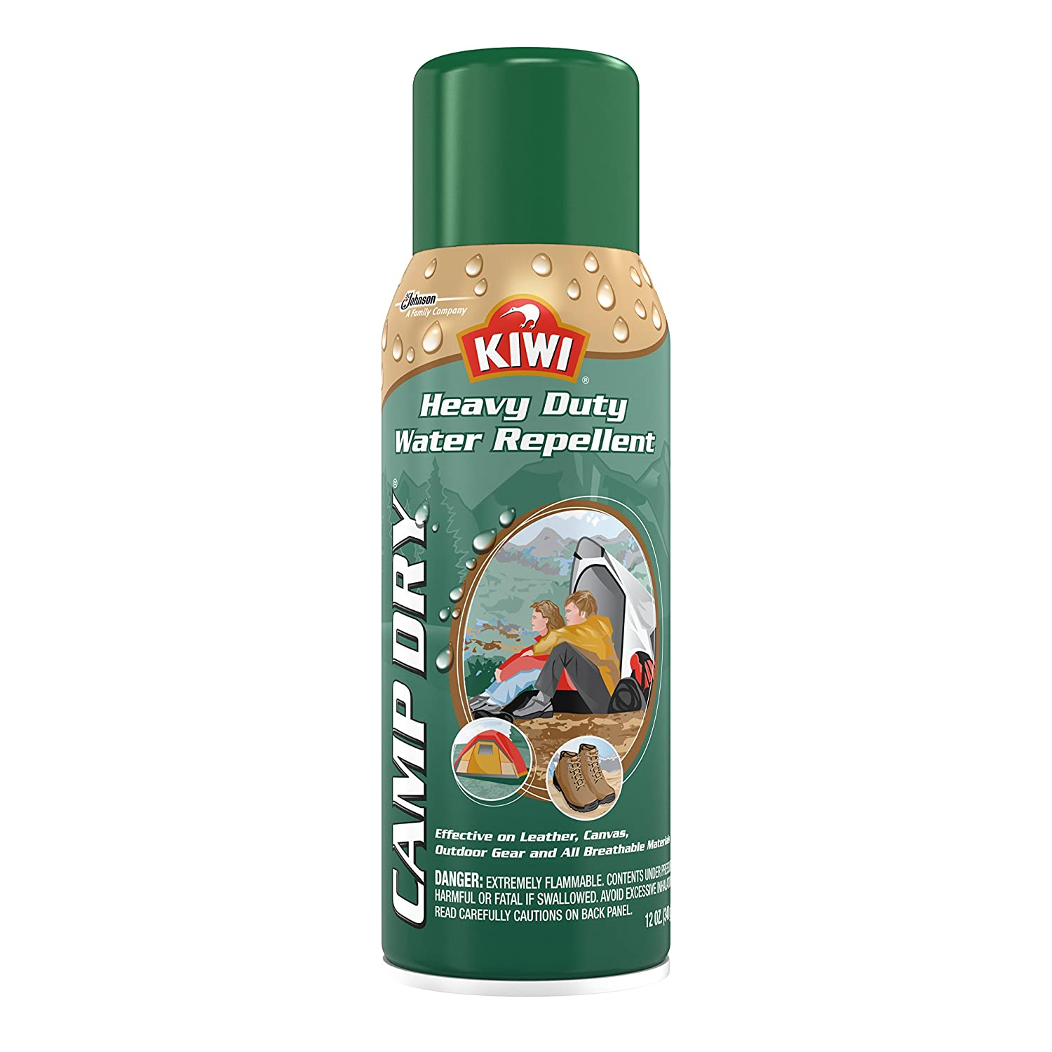 Kiwi 283700 Camp Dry Spray - 12 Unzen
