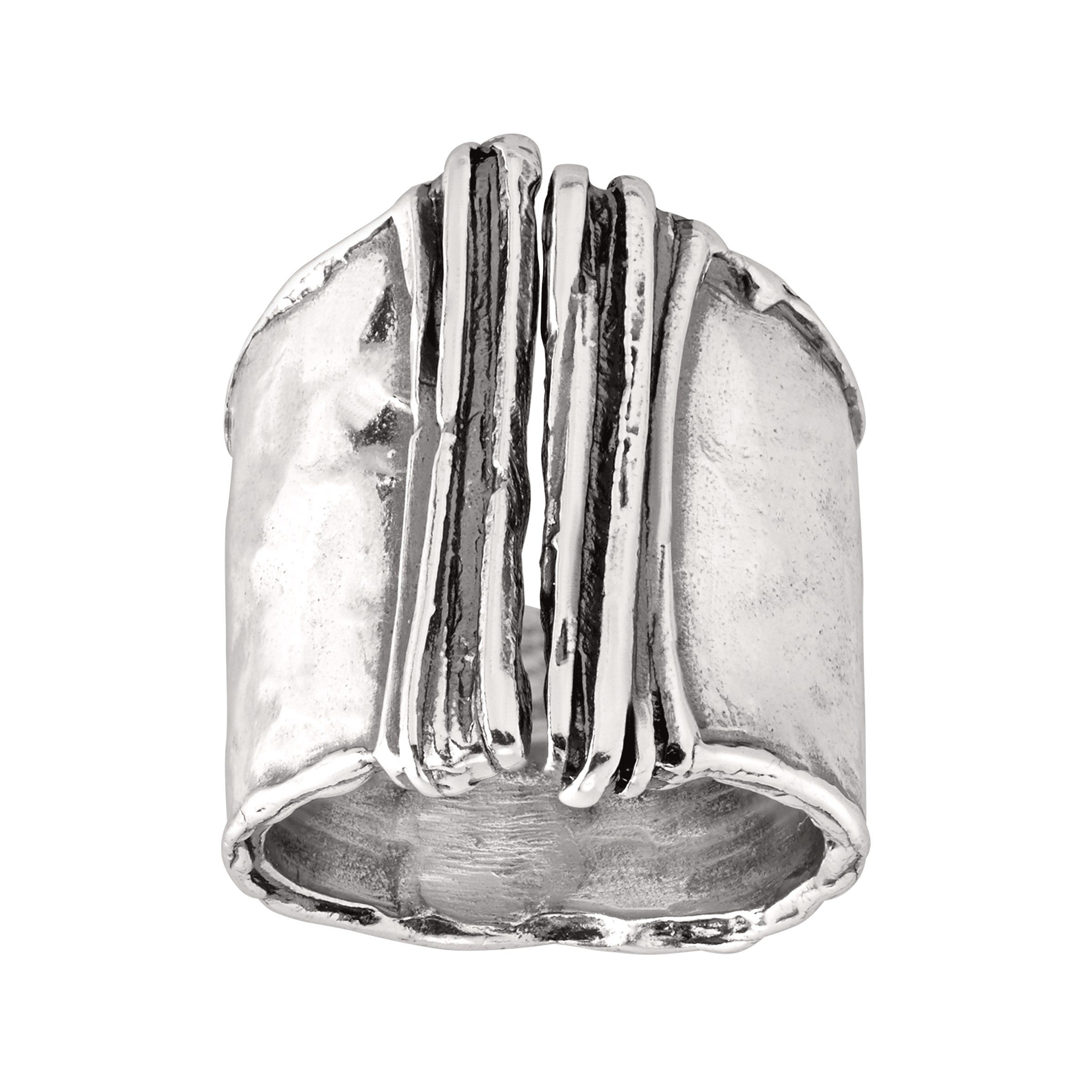 Silpada 'Bamboo' Split-Top Ring in Sterling Silver