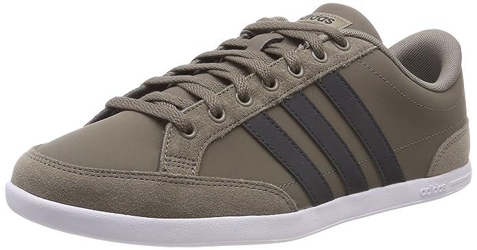 adidas Caflaire Schuhe Herren braun mit carbon Streifen