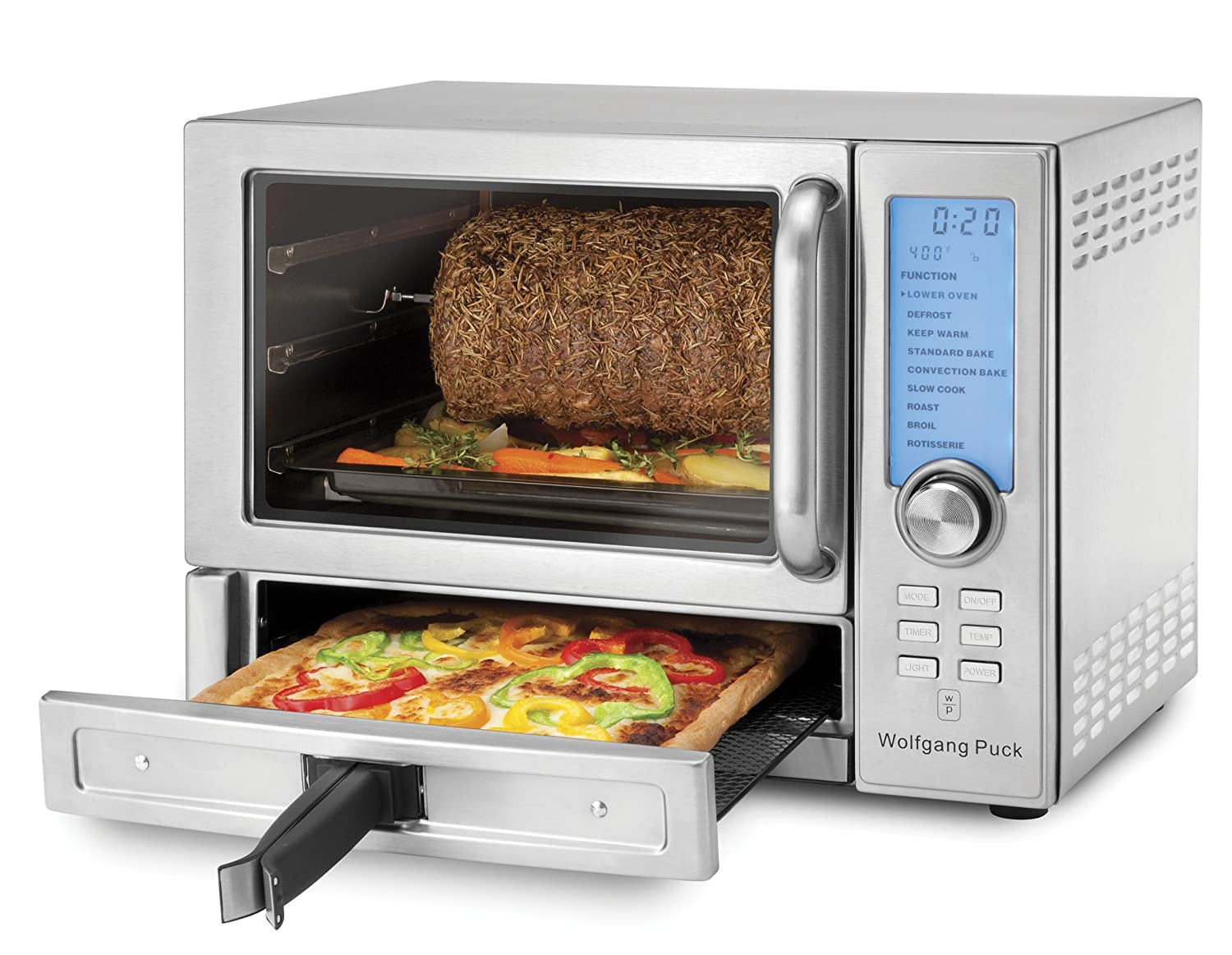 Amazon Wolfgang Puck Dual Convection Oven with Rotisserie and
