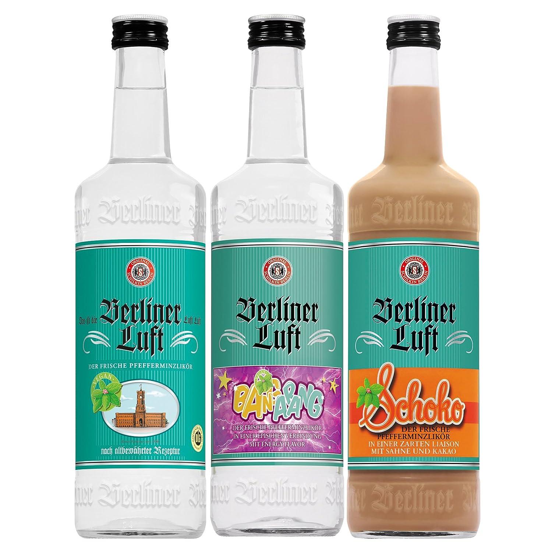 Berliner Luft Schoko Pfefferminz Likor Mit Schokolade 1 X 0 7 L