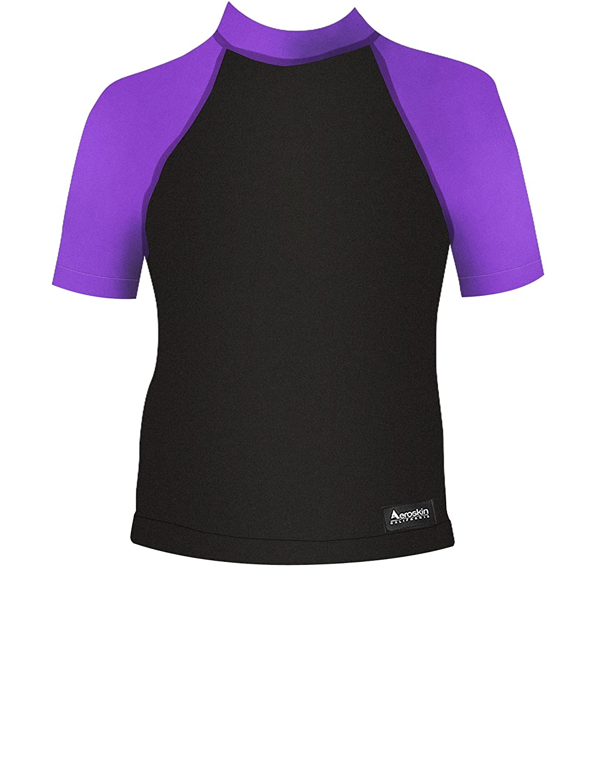 Aeroskin Polypropylene Short Sleeve with Grippers and Fuzzy Collar P352