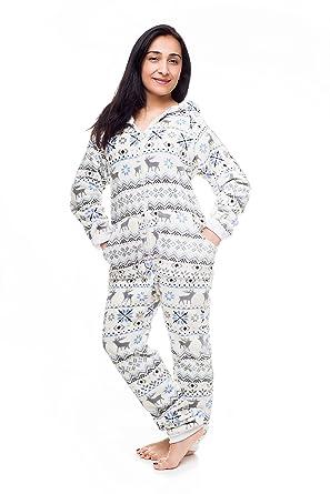 d08a3b19f Kajamaz Pijama Entero sin pies para Adultos -Go-Jamz- de Navidad ...