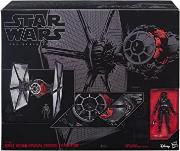 Hasbro Star Wars Episode VII The Force Awakens Black Series Deluxe First Order Special Forces Tie Fighter Large Version