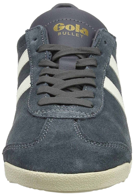 Gola Damen Grau Bullet Suede Sneaker Grau Damen (Graphite/Off Weiß Xg) c0b2fe