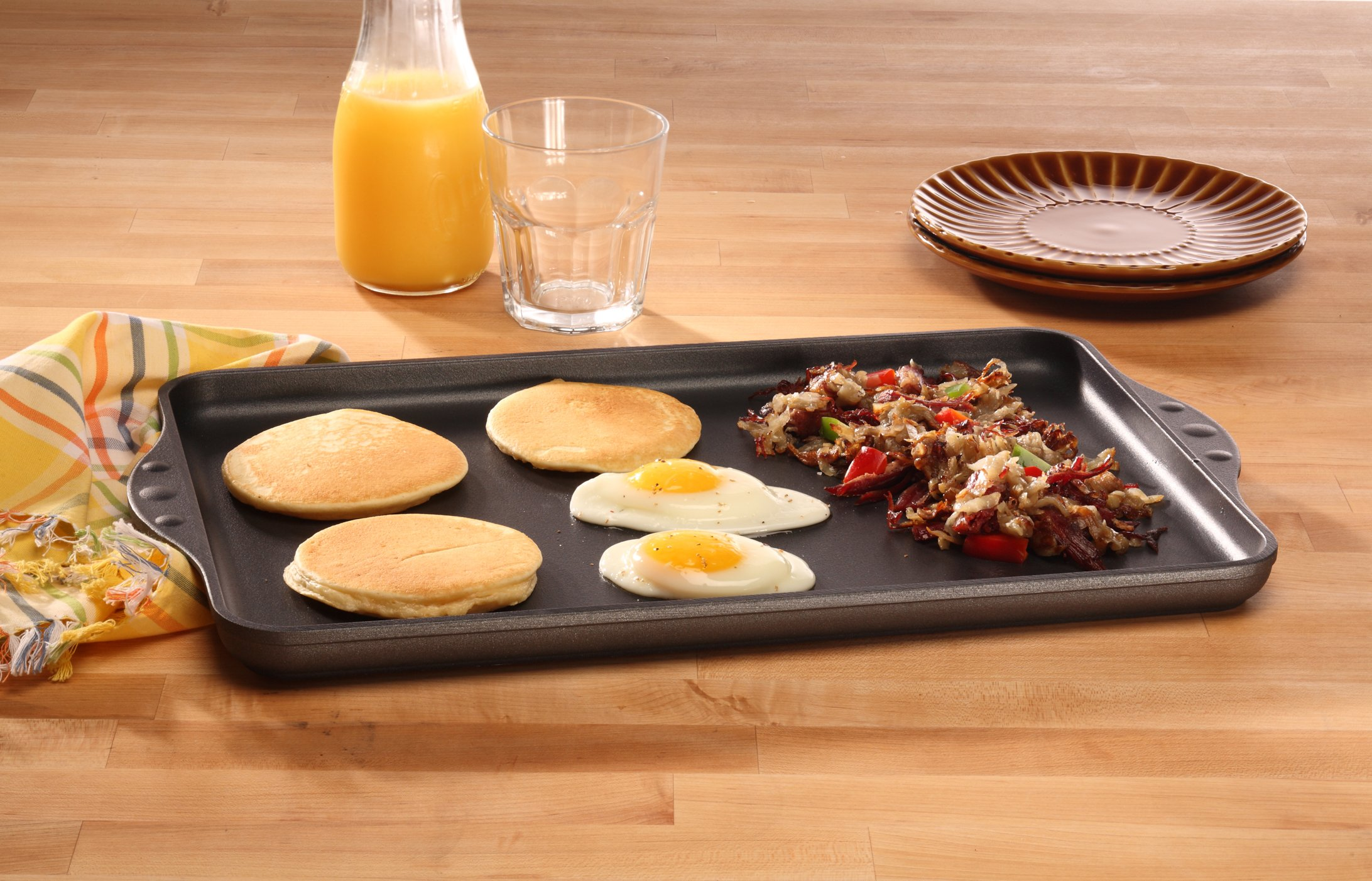 Swiss Diamond Nonstick Double-Burner Griddle by Swiss Diamond (Image #5)