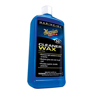 Meguiar's M5032 Marine/RV One Step Cleaner Wax