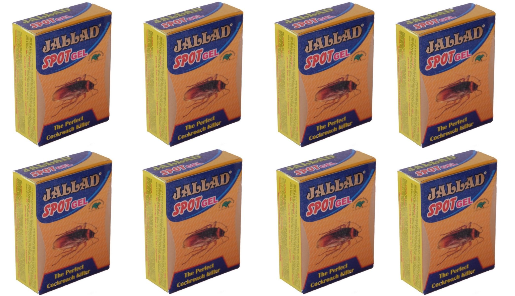 Jallad Anti Cockroach Gel Pest Control, 80g (Pack of 8) product image