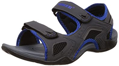 9b4f754e0b Power Men s 32 Sports Blue Athletic and Outdoor Sandals - 8 UK India (42