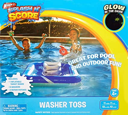 Amazon.com: Splash n puntuación Arandela Ring Toss piscina ...