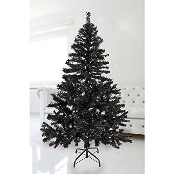 Schwarzer Weihnachtsbaum.Fts Exclusiv Weihnachtsbaum 150 Cm In Schwarz Inklusive Metallstander