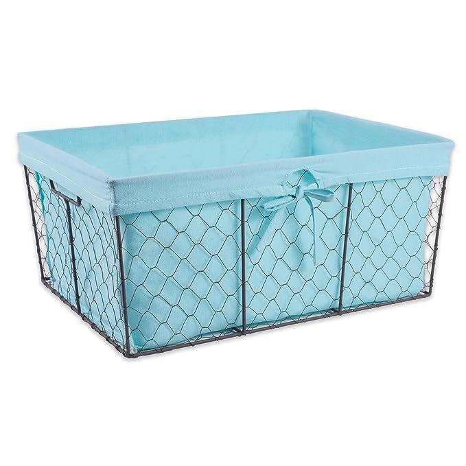 Amazon.com: DII Home Traditions Vintage Metal Chicken Wire Storage ...