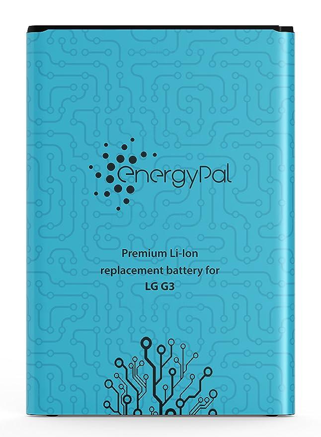 26 opinioni per Energypal LG G3, batteria 3000mAh Li-Ion batteria di ricambio per telefono LG