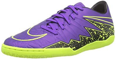 4977bd0b77f5b1 NIKE New Men s Hypervenom Phelon II IC Soccer Shoe Hyper Grape Black 9.5