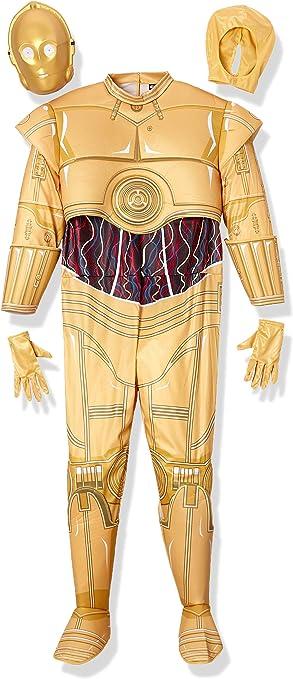 Rubies Masquerade Disfraz de Star Wars C-3PO tamaño Adulto XL (44 ...