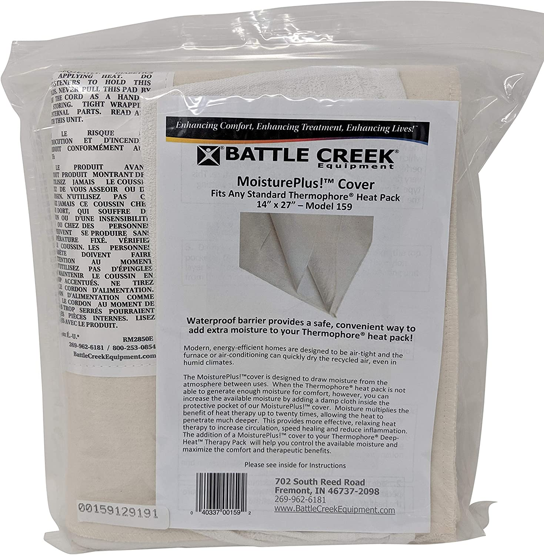 "Battle Creek Equipment Heating Pad Moisture-Plusª Cover Only Large/14"" x 27"" model 159"