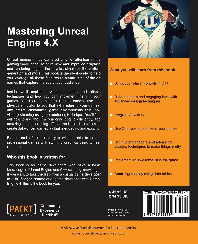 Amazon com: Mastering Unreal Engine 4 X (9781785883569): Muhammad A