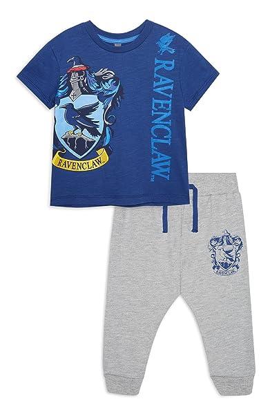 Primark Camiseta - Bebé-Niños Multicolor Blue - Ravenclaw 9 Mes