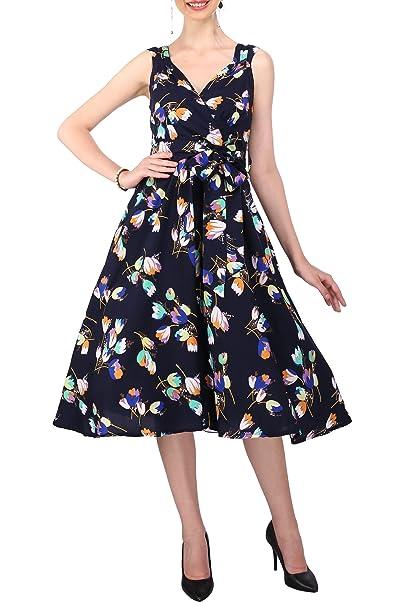 Dress 40s 50s Swing Vintage Rockabilly Ladies Retro Prom Party Plus Size  6-24
